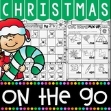 Christmas Activities for Kindergarten {Math and Literacy N