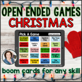 Christmas Open Ended Games for ANY skill   Boom Cards™