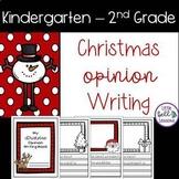 Christmas Opinion Writing Book