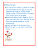 Christmas Opinion Writing with passages to support evidence