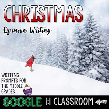 Christmas Opinion and Argument Writing: Google Edition