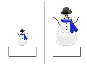 Christmas Opposites: Tall/Short