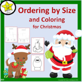 Christmas Ordering by Size and Coloring