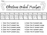 Christmas Ordinal Numbers