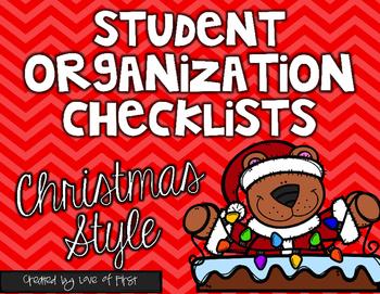 Christmas Organization Checklists