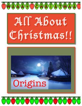 Christmas Origins // ALL ABOUT CHRISTMAS
