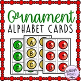Christmas Ornament Alphabet Cards