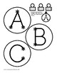 Christmas Ornament Alphabet for Bulletin Boards, Banners & more!