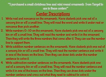 Christmas Ornament Centers