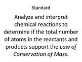 "Christmas Ornament Chemis""tree"" Balancing Chemical Equations"