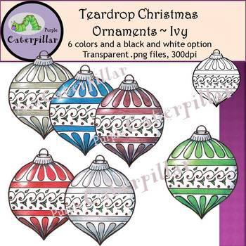 Christmas Ornament Clip Art