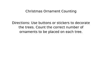 Christmas Ornament Counting