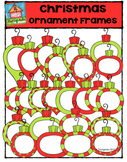 Christmas Ornament Frames {P4 Clips Trioriginals Digital CLip Art}