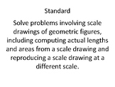 """Christmas Ornament Geome""""tree"""" Activity - Scale Drawing Problems"""