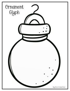 Christmas Ornament Glyph