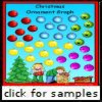 Christmas Ornament Graphing (1.NBT.1)