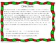 Christmas Ornament Letter Recognition 'Bang' Game
