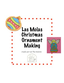 Christmas Ornament Making with Molas