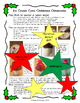 Christmas Cone Ornament - Gift for Parents - PLUS - Language Arts Activity!