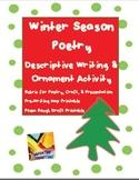 Christmas Ornament & Poetry Writing