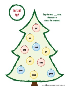 Christmas Ornament Print and Go Articulation