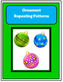 Christmas Ornament Repeating Patterns