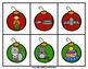Christmas Ornament Rhyming Match Game