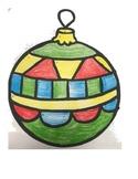 Christmas Ornament Solutions to Inequalities TEKS 6.10B