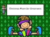 Christmas Ornament Tag FREEBIE