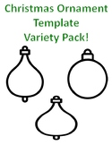 Christmas Ornament Template Christmas Ornament to Color Ornament Coloring Pages