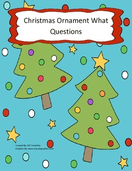 Christmas Ornament What Questions
