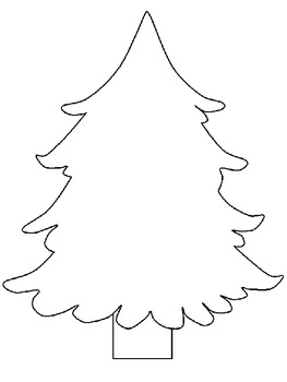 Christmas Ornament Wish List and Tree Activity
