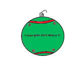 Christmas Ornament Writing and Coloring Activity