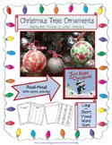 Christmas Ornament Gift for Parents! – PLUS – Long & Short Vowel Practice