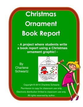 Christmas Ornaments Book Report