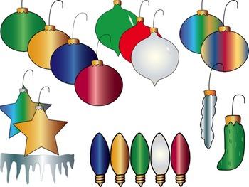 Christmas Ornaments, Bulbs, Lights, and more!