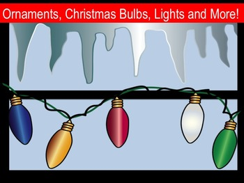 Christmas Ornaments, Bulbs, Lights, and more!