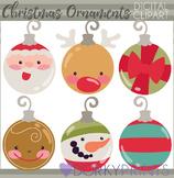 Christmas Ornaments Clipart