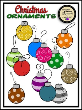christmas ornaments clipart - Christmas Ornaments Clipart