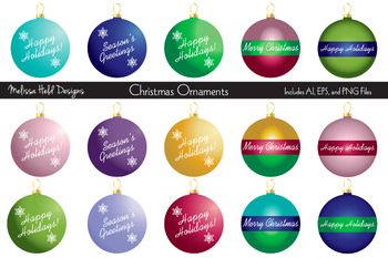 christmas ornaments clipart by scrapster by melissa held designs christmas ornaments clipart