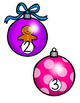 Christmas Ornaments Counting 0-20 FREE