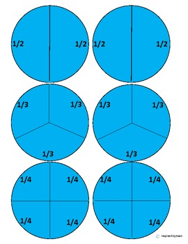 Christmas Ornaments Fractions Cut and Paste for Autism