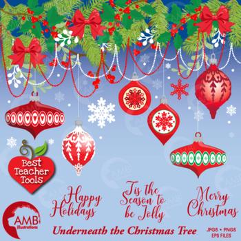 Christmas Ornaments and Embellishments, AMB-1530