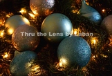 Christmas Ornaments and Lights Stock Photo #233