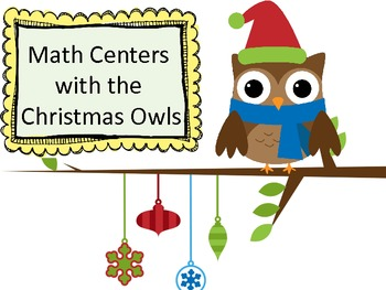 Christmas Owl Math Centers