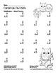 """Christmas Owl Math"" Mixed Multiplication - Common Core Fun! (black line)"