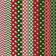 Christmas Owl Vectors & Patterns - Owl Clip Art, Baby Owls