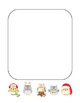 """Christmas Owl"" Writing Sheets – For Common Core Writing  (color & black line)"
