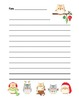 """""""Christmas Owl"""" Writing Sheets – For Common Core Writing"""