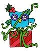 Christmas Owls Clipart